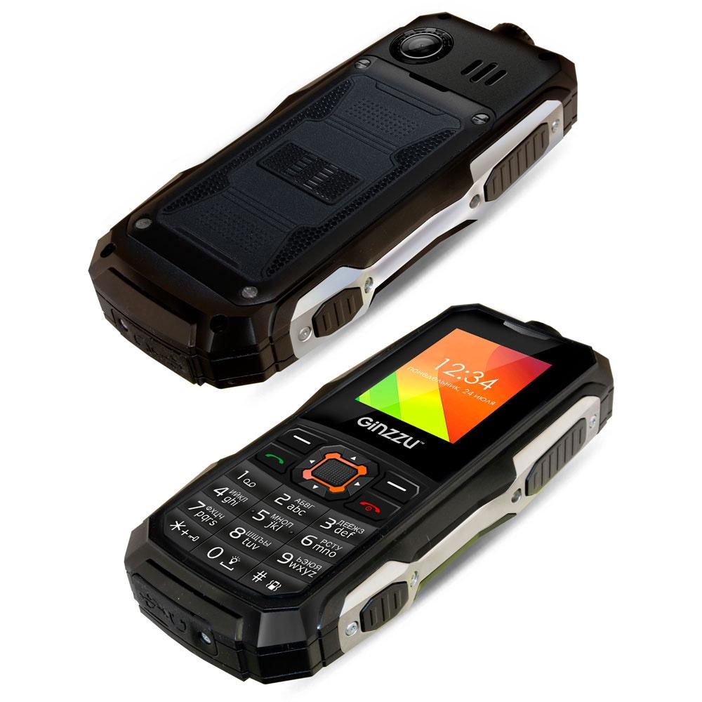 Защищенный Tелефон Ginzzu R50 цена и фото