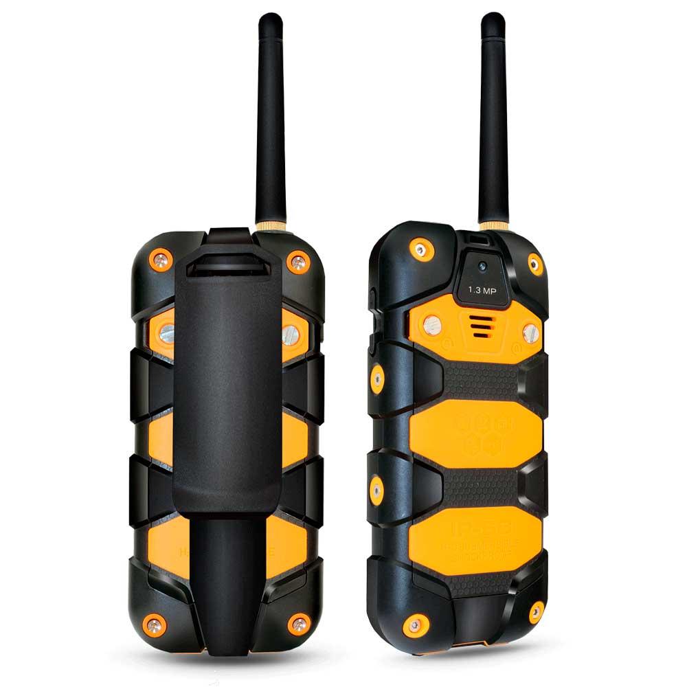 Защищенный Tелефон-Рация Ginzzu R62 рация fallout 2