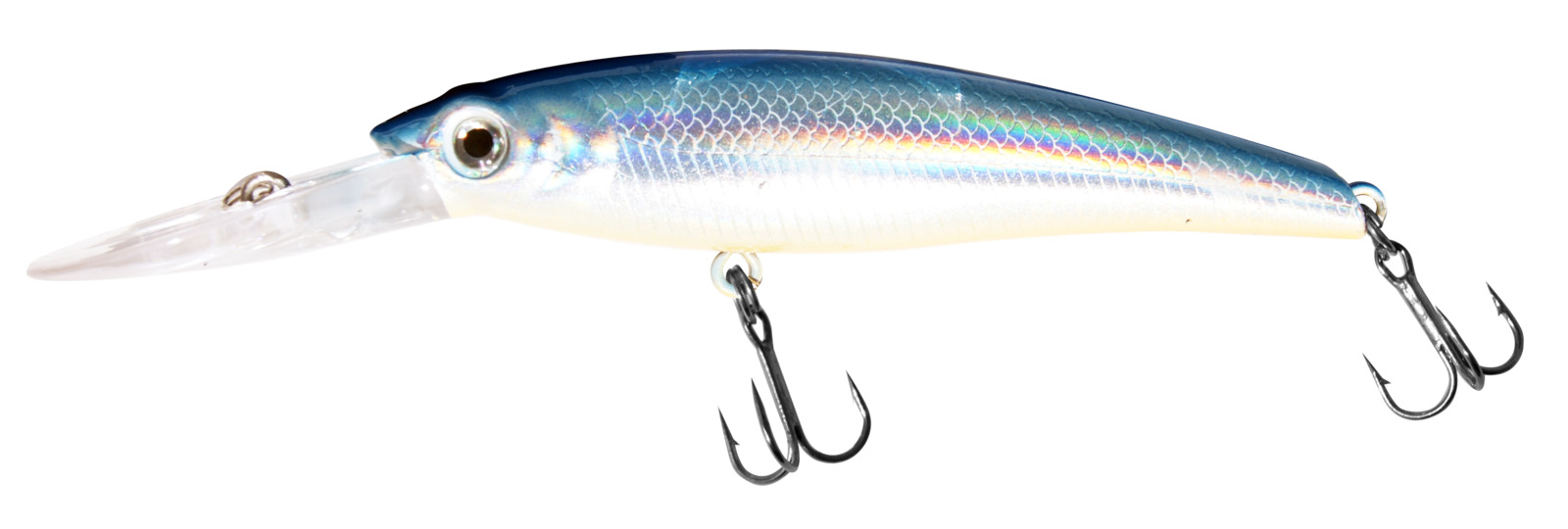 Воблер Siweida Deep Runner Minnow, 0059591, серебристый (07), 140 мм, 50 г