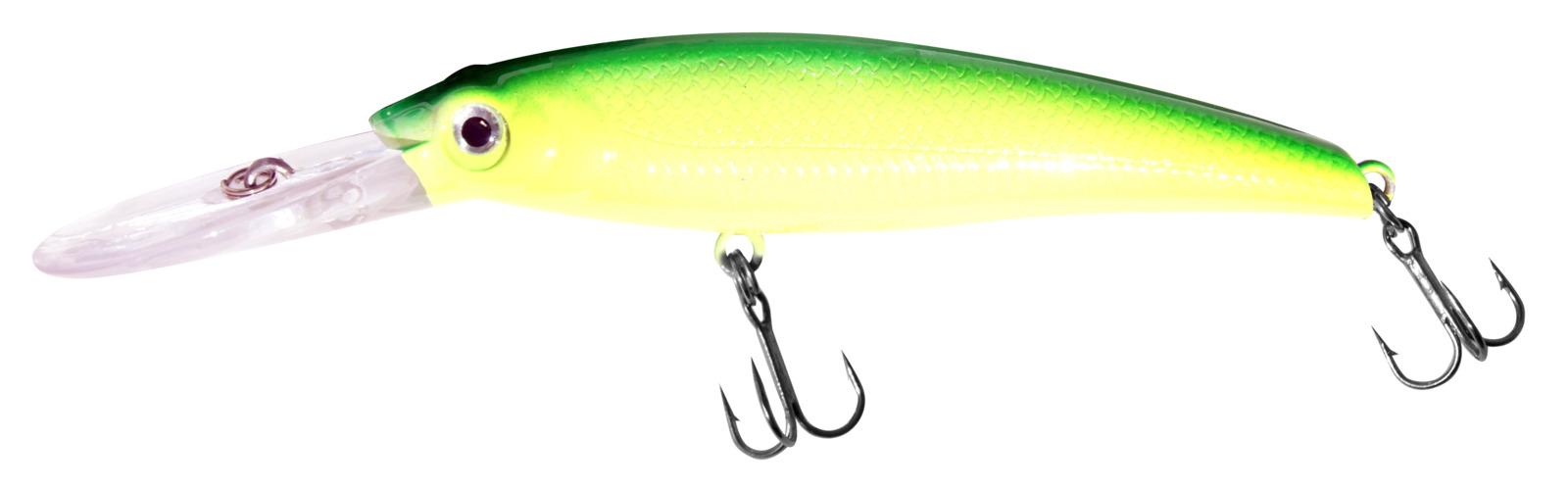 Воблер Siweida Deep Runner Minnow, 0059593, зеленый, желтый (17), 140 мм, 50 г катушка siweida swd c 3f 2bb 1541012