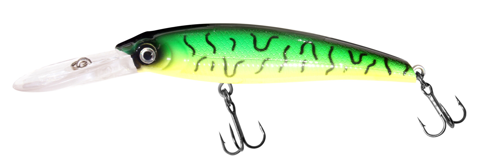 Воблер Siweida Deep Runner Minnow, 0059595, зеленый, желтый, черный (27), 140 мм, 50 г цены