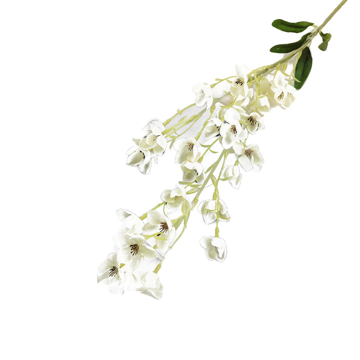 Искусственные цветы Калужница, 3794224, белый, 90 см