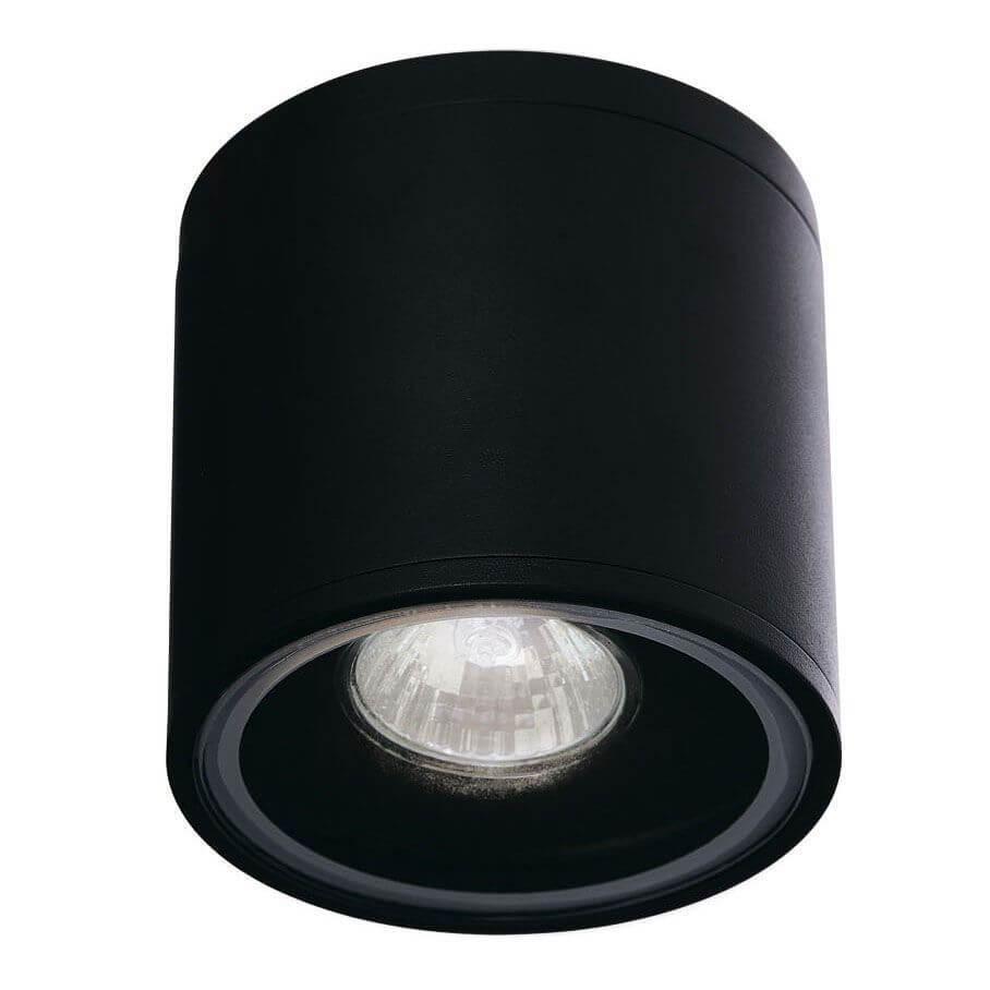 Уличный светильник Ideal Lux Gun PL1 Nero, GU10 люстра ideal lux opera nero opera sp6 nero