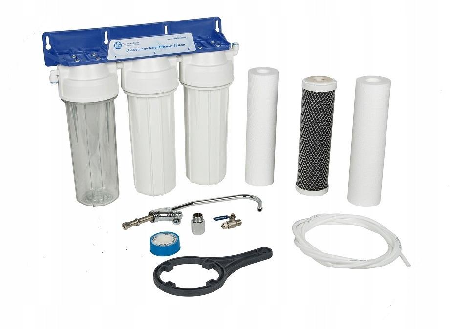 Трехступенчатая система, стандартная очистка для мягкой воды Aquafilter FP3-2, 503