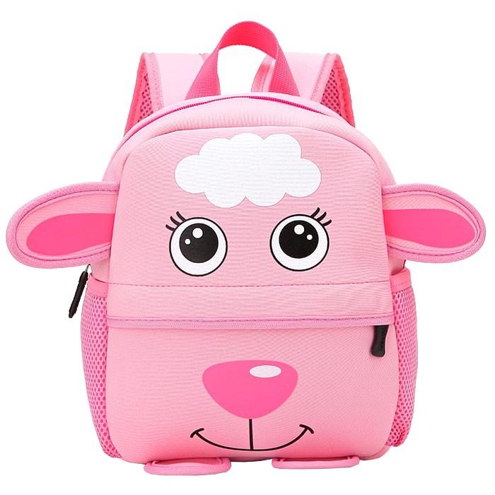 Рюкзак детский-Овечка розовая