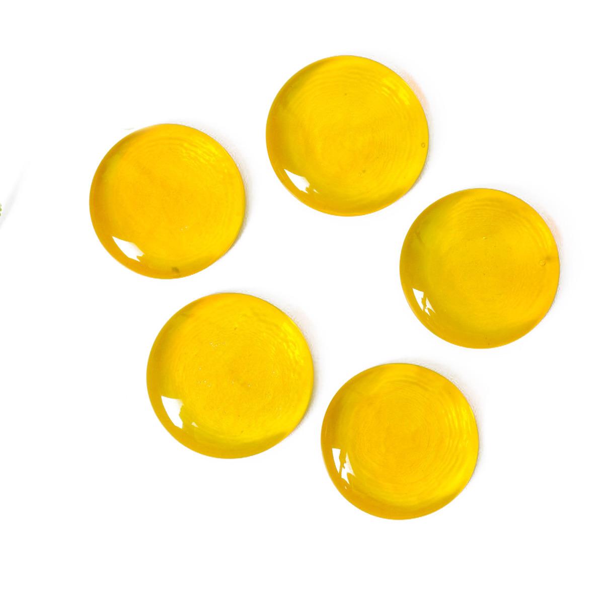 Декоративный наполнитель Evis Эльвинги, мелкие, 4048628, желтый, 20 шт стоимость