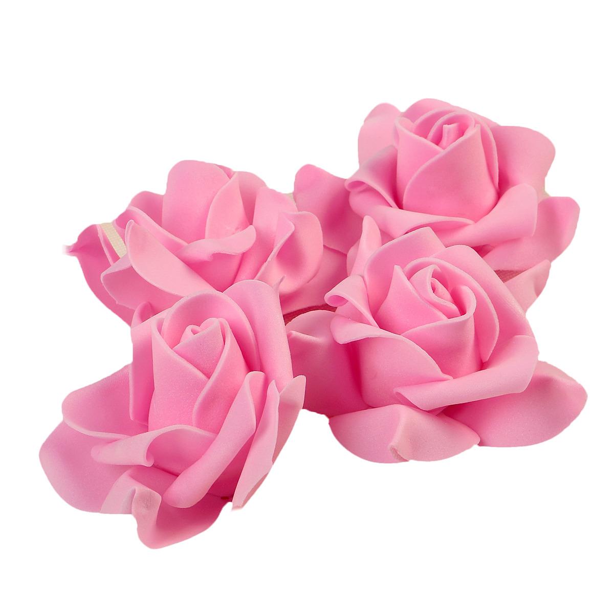 цена Набор цветов для декора, 2976286, розовый, 4 шт онлайн в 2017 году