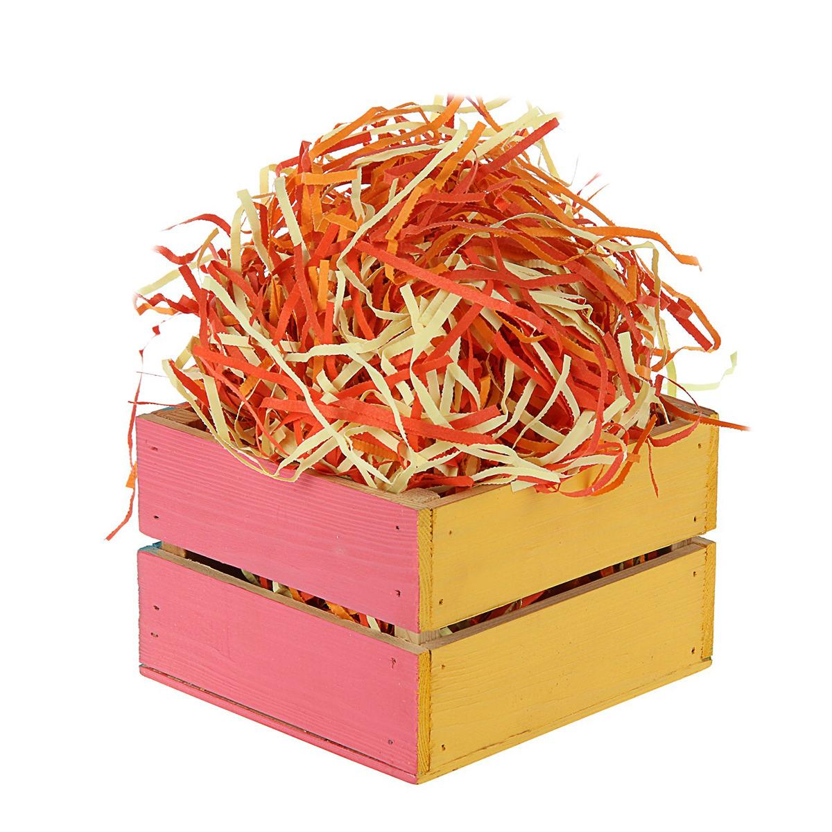Декоративный наполнитель Гроздья рябины, 3395226, разноцветный, 500 г белозерская ольга г бумажный лев