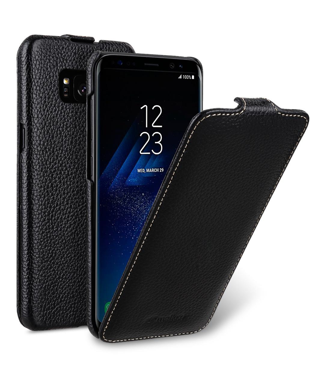 Кожаный чехол флип Melkco для Samsung Galaxy S8 Plus, черный mooncase для samsung galaxy а7 кожаный чехол держатель кошелек флип карты с kickstand чехол обложка no a01