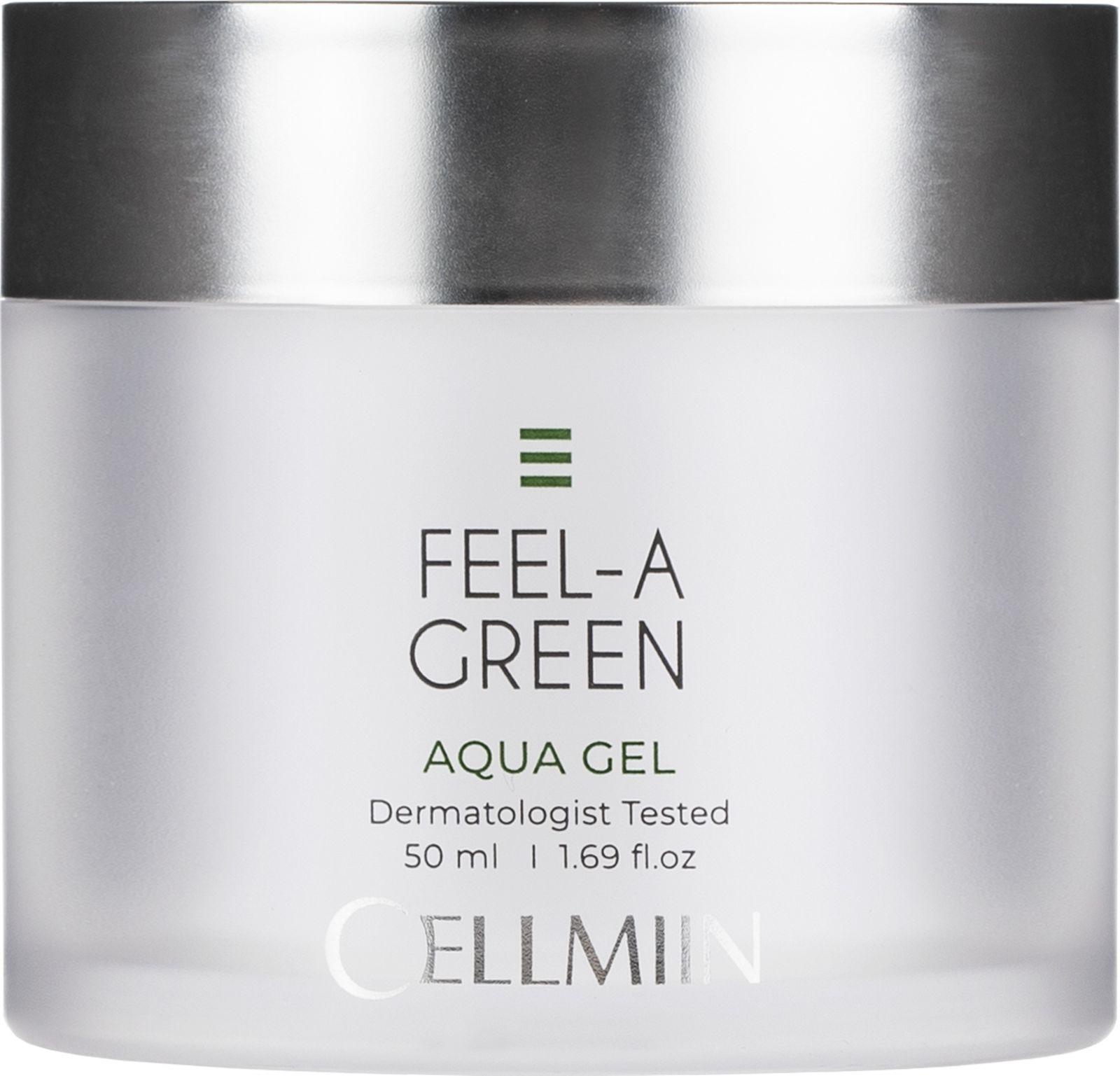 Аква-гель для лица Cellmiin Feel-A-Green Aqua Gel, 50 мл Продукт прошел тест на гипоаллергенность.. Аква гель для лица...