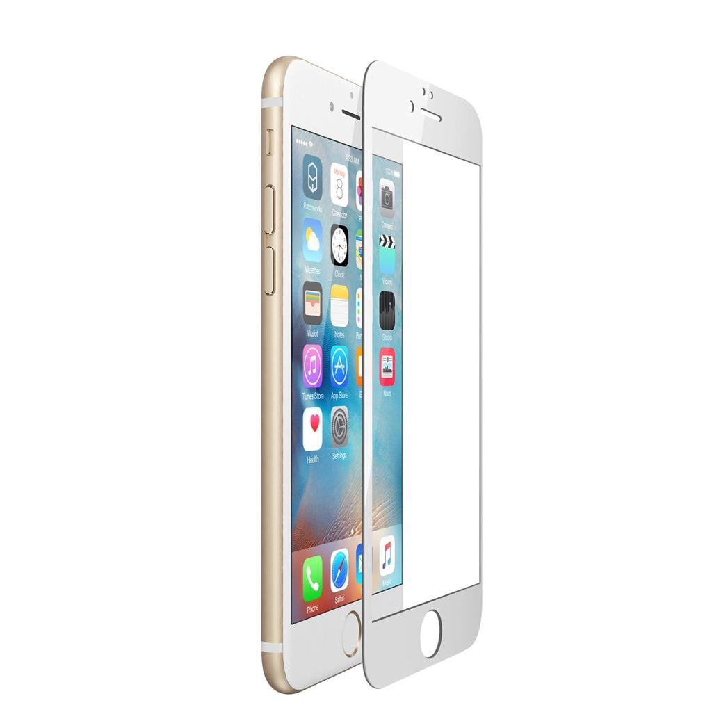Защитное стекло iPhone 6 / 6S Full Glue белый