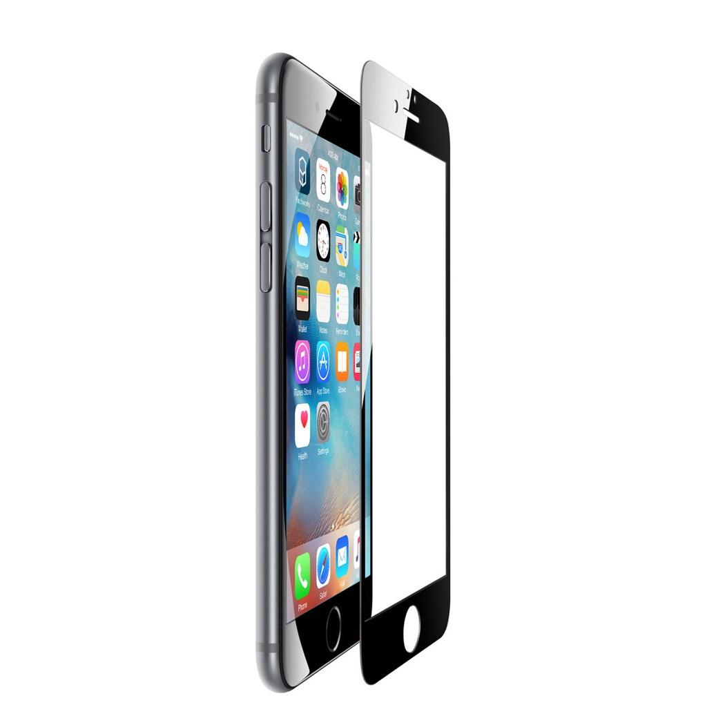 Защитное стекло iPhone 6 / 6S Full Glue черный