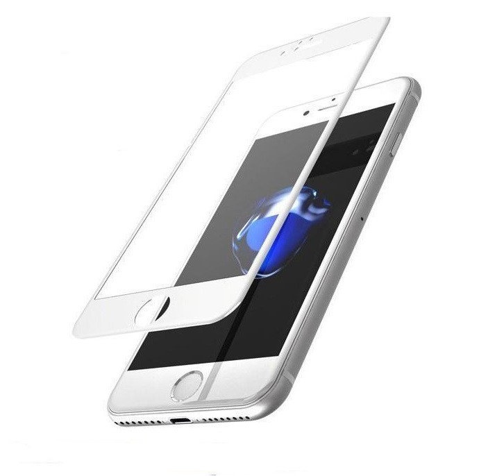 Защитное стекло Grand Full Glue для iPhone 7/8, белый