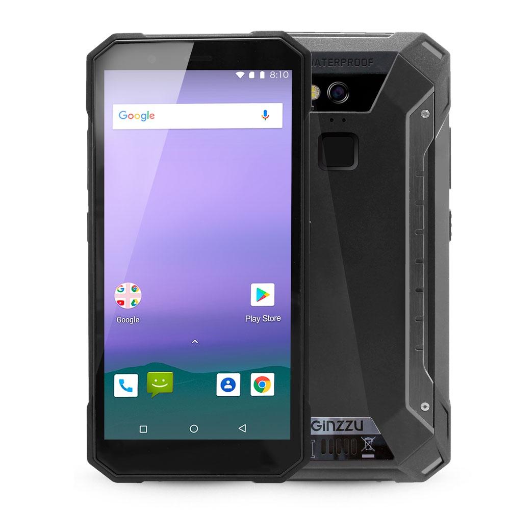 Смартфон Ginzzu RS9602 2/16GB, черный все цены
