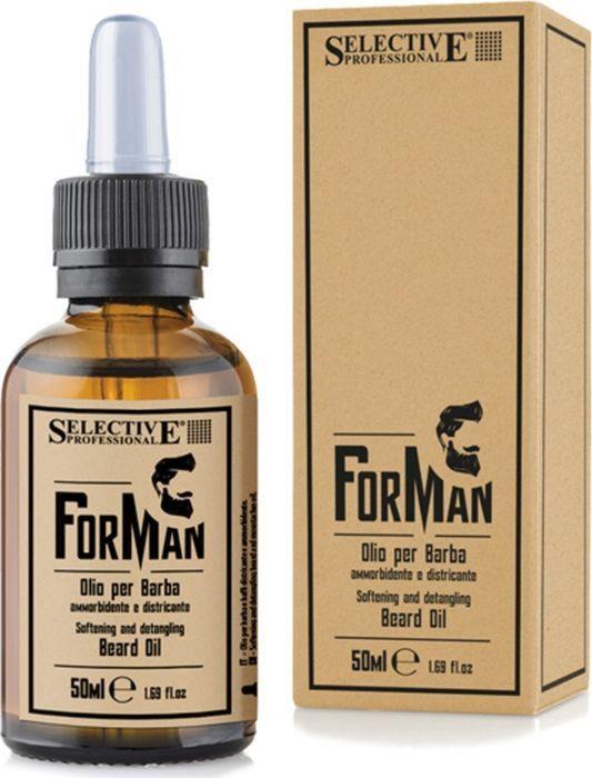 Масло Selective Professional Cemani, для ухода за бородой и усами, 50 мл
