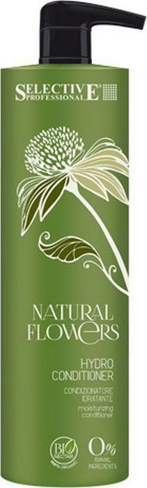 Кондиционер для волос Selective Professional Natural Flowers Hydro Conditioner Аква, 1 л