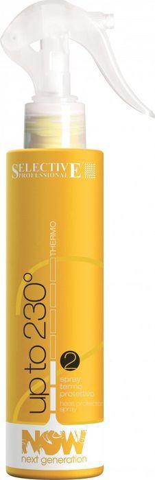 Спрей для укладки волос Selective Professional Now Next Generation Up To 230, термозащитный, 200 мл schwarzkopf professional термозащитный спрей для волос flatliner 200 мл