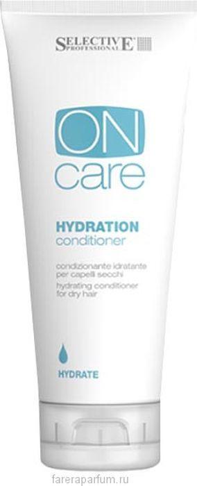 Кондиционер для волос Selective Professional On Care Hydration Conditioner Увлажняющий, для сухих волос, 200 мл