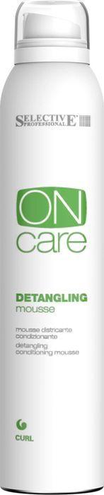 Мусс для волос Selective Professional On Care Curl Detangling Mousse, кондиционирующий, реструктурирующий, 200 мл