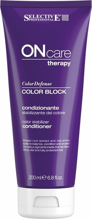 Кондиционер для волос Selective Professional On Care Color Care Block Conditioner, для стабилизации цвета, 200 мл