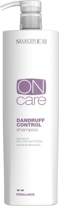 Шампунь для волос Selective Professional On Care Rebalance Dandruff Control Shampoo, от перхоти, 1 л