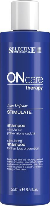Шампунь для волос Selective Professional On Care Hair Loss Stimulate Shampoo Стимулирующий шампунь, предотвращающий выпадение, 250 мл цена 2017