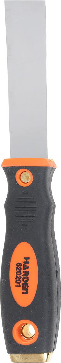 Шпатель Harden, 620201, профессиональный, усиленный, 25 мм шпатель harden 620204 профессиональный усиленный 100 мм