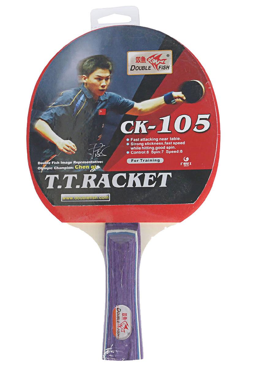 Ракетка для настольного тенниса Double Fish 105, 2564520