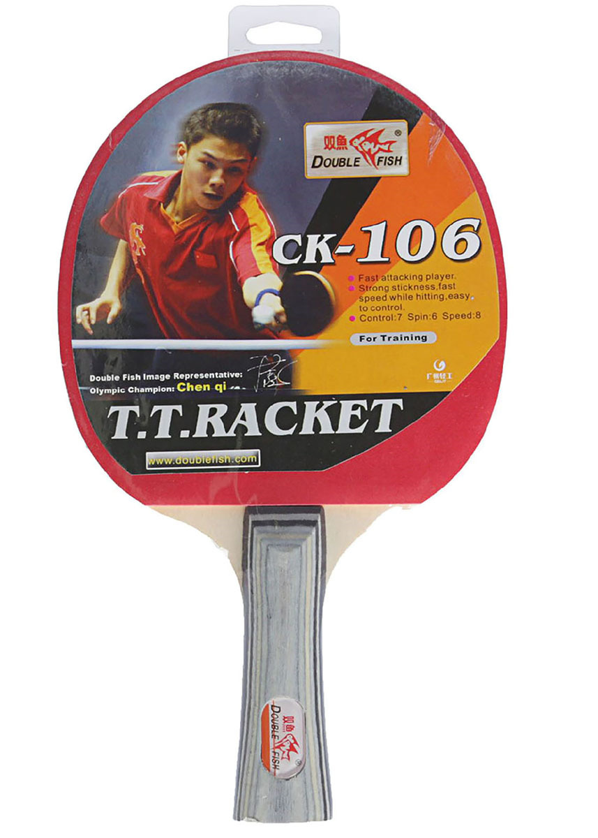 Ракетка для настольного тенниса Double Fish 106, 2564521