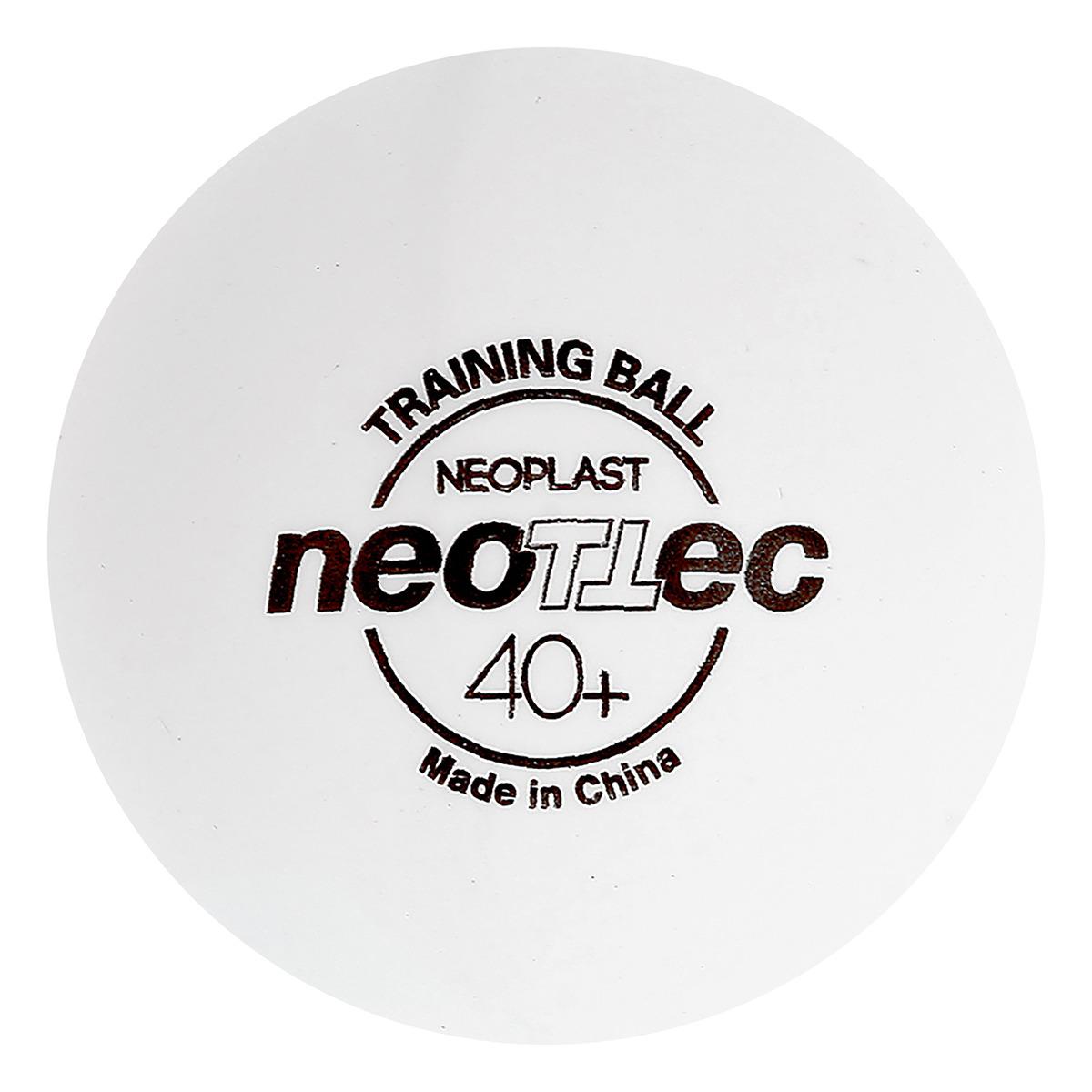Мяч для настольного тенниса Neottec Neoplast Training, 3275376, разноцветный, 6 шт