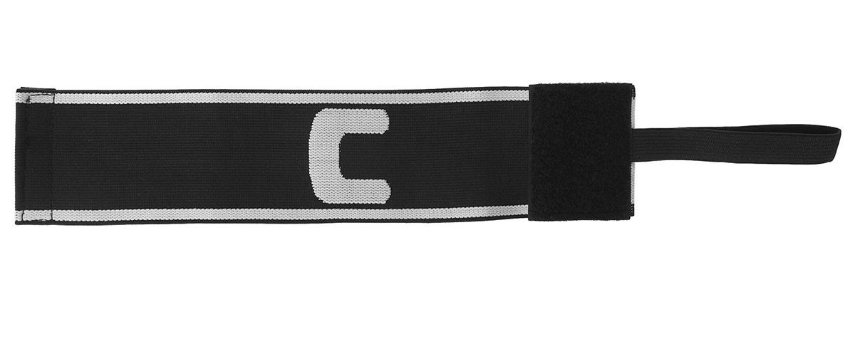 Капитанская повязка Torres, 3741157, черный, белый TORRES