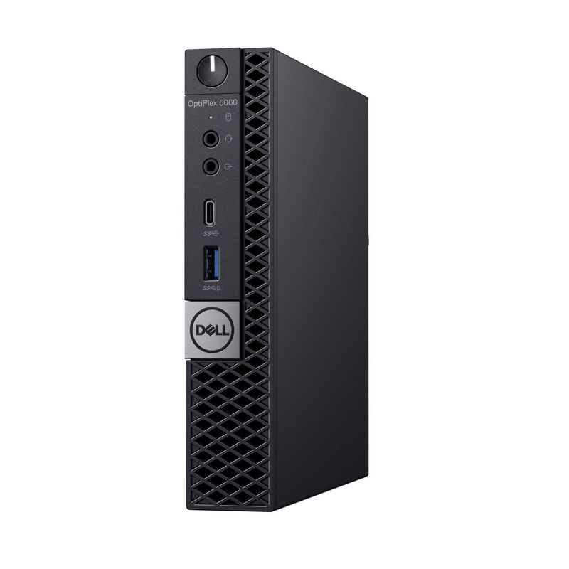 Системный блок Dell Optiplex 5060 Micro, 5060-1141, черный системный блок dell optiplex 5060 sff 5060 7656 черный