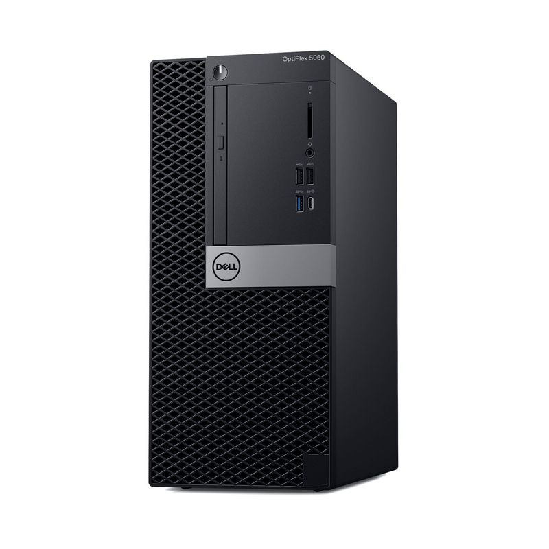 Системный блок Dell Optiplex 5060 MT, 5060-7625, черный системный блок dell optiplex 5060 sff 5060 7656 черный