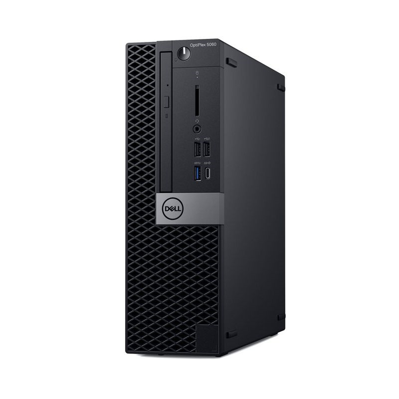 Системный блок Dell Optiplex 5060 SFF, 5060-1127, черный системный блок dell optiplex 5060 sff 5060 7656 черный