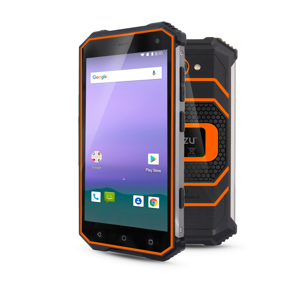 Смартфон Ginzzu RS8502 3/32GB, оранжевый все цены