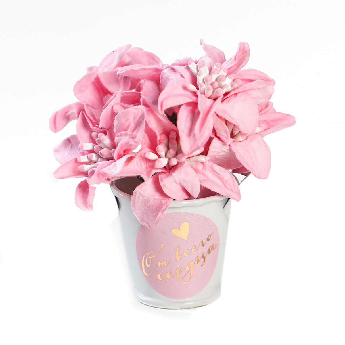 Цветочный комплимент Арт Узор Ты моё вдохновение, 3909439, розовый юлия вишня мое ты вдохновение стихи