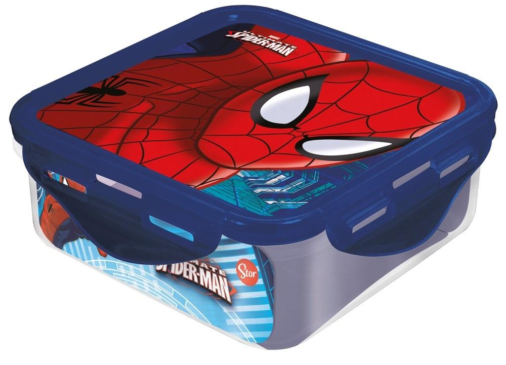Контейнер пластиковый Stor (квадратный, 500 мл). Человек-паук Красная паутина, арт. 33459 костенко а человек паук запутанная паутина графический роман