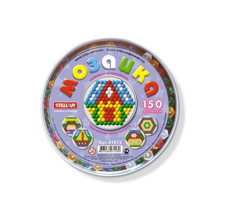 Мозаика для детей круглая 150 деталей, 13 мм