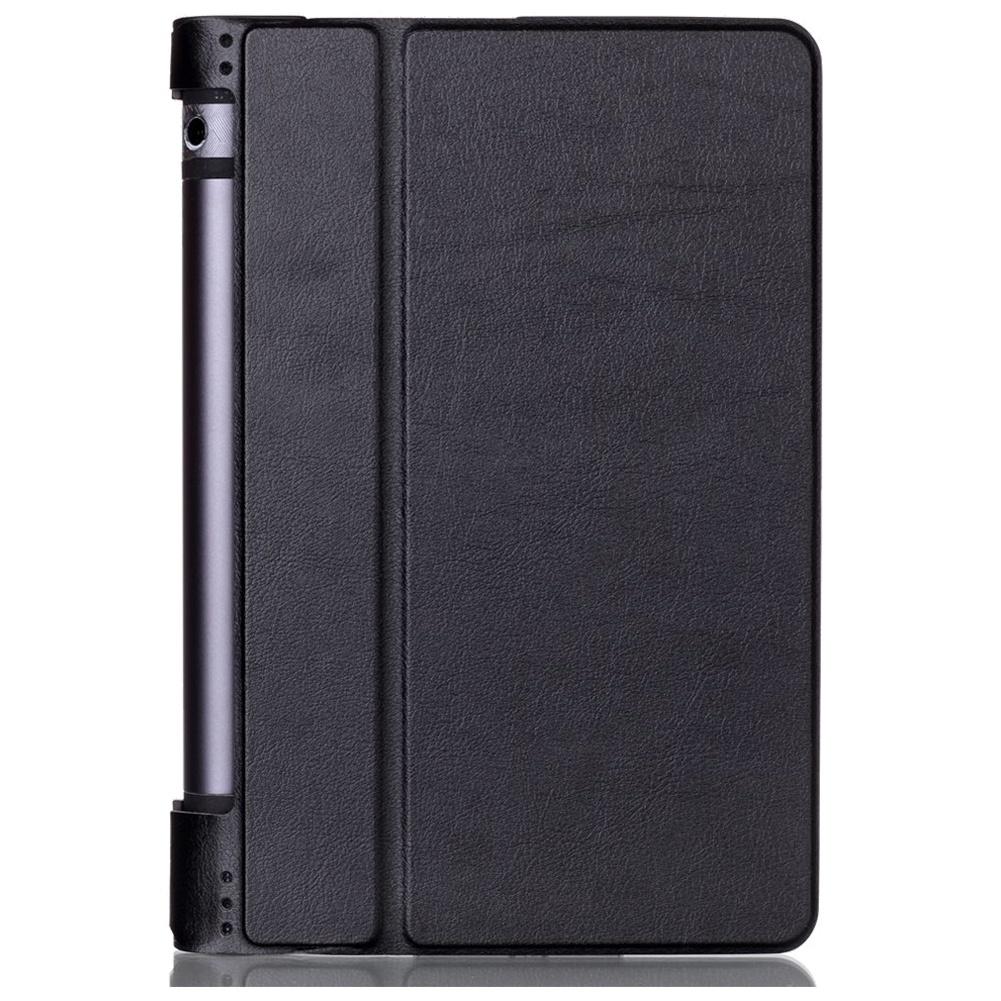 Для Lenovo Yoga Tab 3 8 Чехол Slim Smart Cover Чехол для Lenovo Yoga Tab 3 8,0-дюймовый планшет (черный) new luxury fashion pu leather cover case stand cover case for lenovo yoga tab 3 8 850f yt3 850f tablet free film free stylus