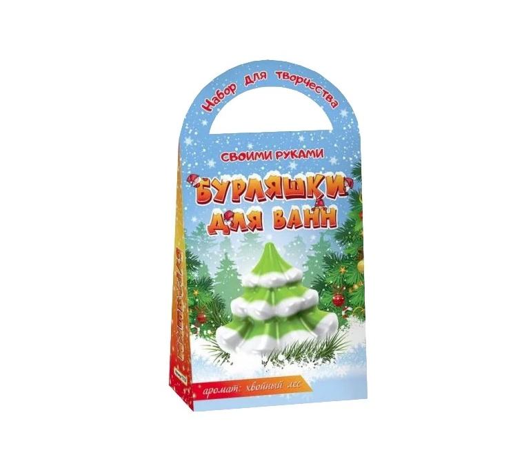Бомбочки-бурляшки для ванны Ёлочка недорого