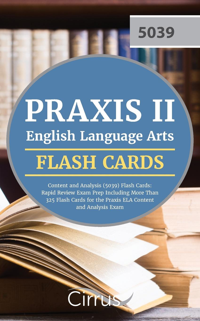 Praxis II English Language Arts Team, Cirrus Test Prep Praxis II English Language Arts. Content and Analysis (5039) Flash Cards: Rapid Review Exam Prep Including More Than 325 Flash Cards for the Praxis ELA Content and Analysis Exam waterproof wooden cirrus pattern wall hanging tapestry