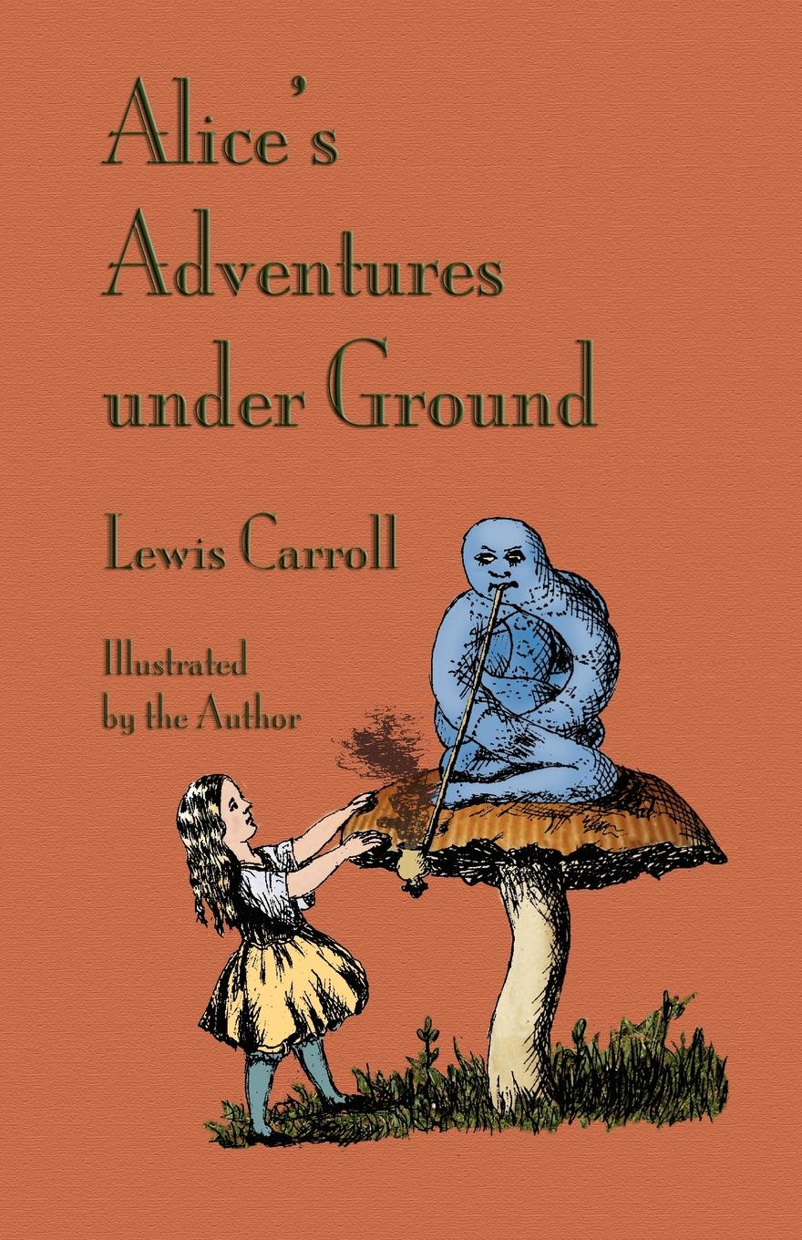 Фото - Lewis Carroll Alice's Adventures Under Ground read it yourself alice in wonderland level 4