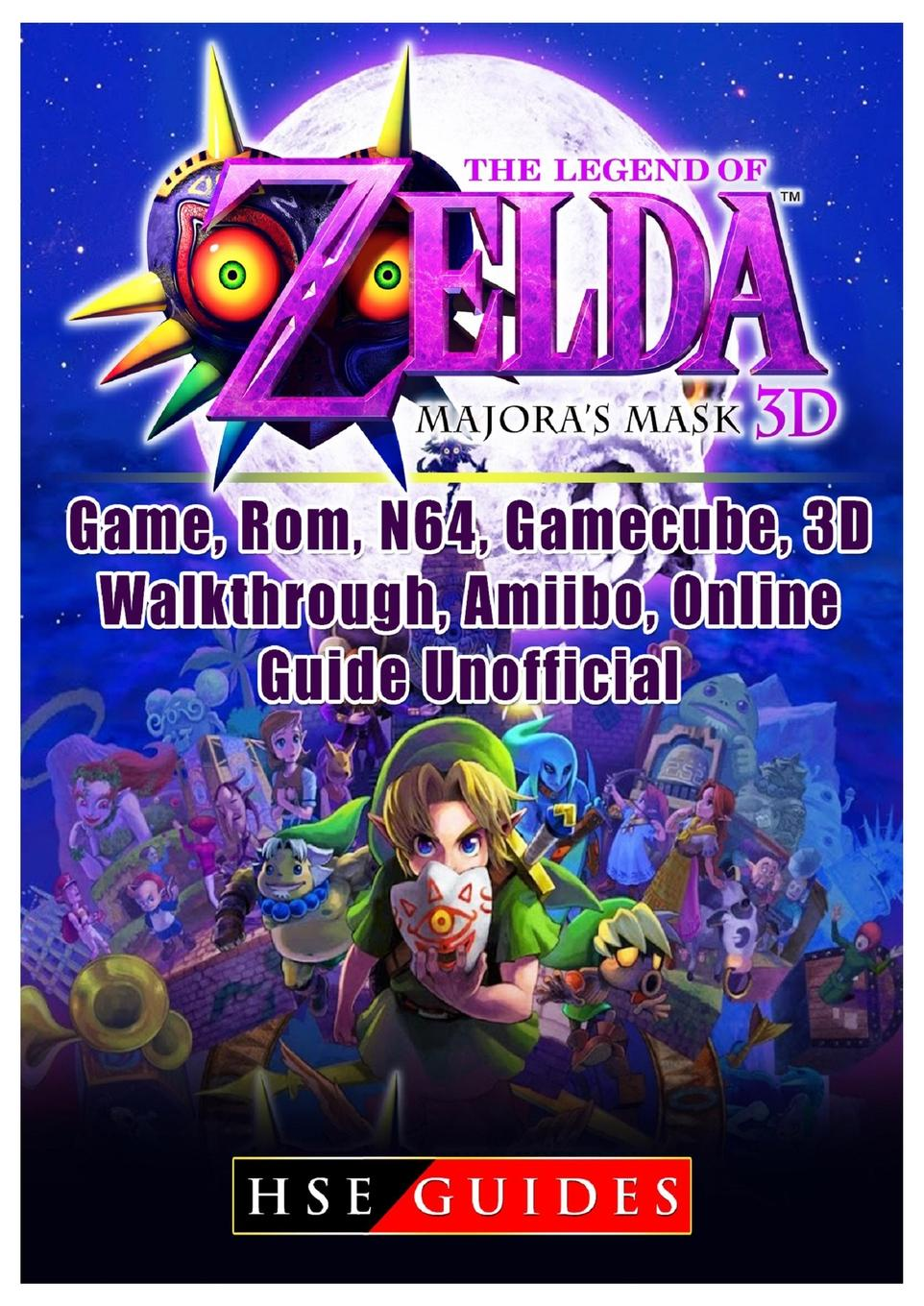 HSE Guides The Legend of Zelda Majoras Mask 3D, Game, Rom, N64, Gamecube, 3D, Walkthrough, Amiibo, Online Guide Unofficial advanced game controller for gamecube ngc and wii black