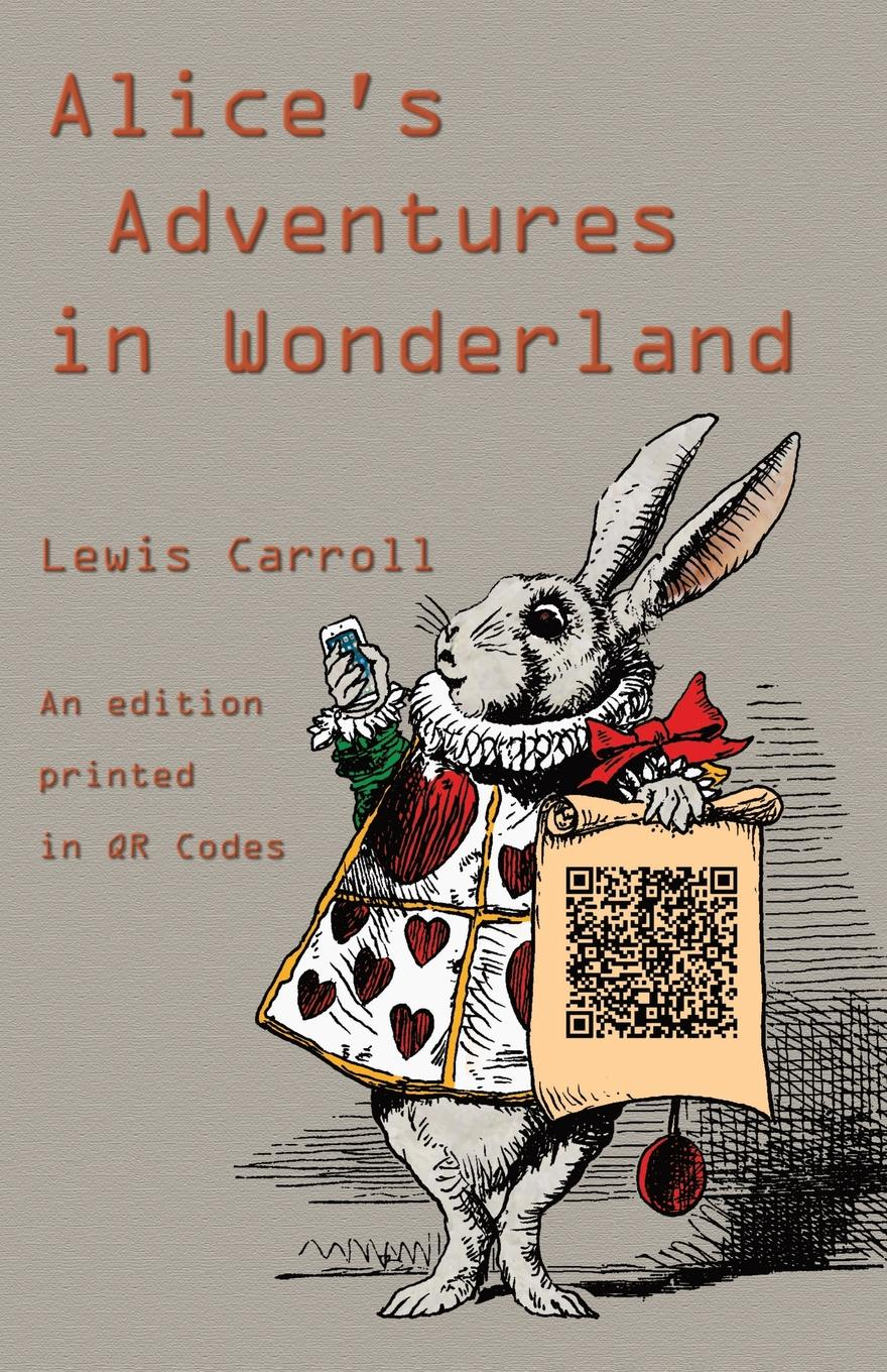 Lewis Carroll Alice's Adventures in Wonderland. An Edition Printed in QR Codes 1d 2d qr code image barcode scanner scanning barcode for windows vista android ios devices barcode reader usb interface