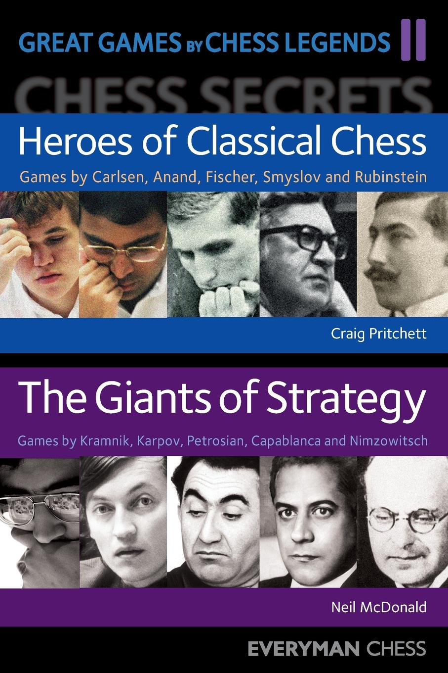 Neil McDonald, Colin Crouch Great Games by Chess Legends. Volume 2 цена и фото