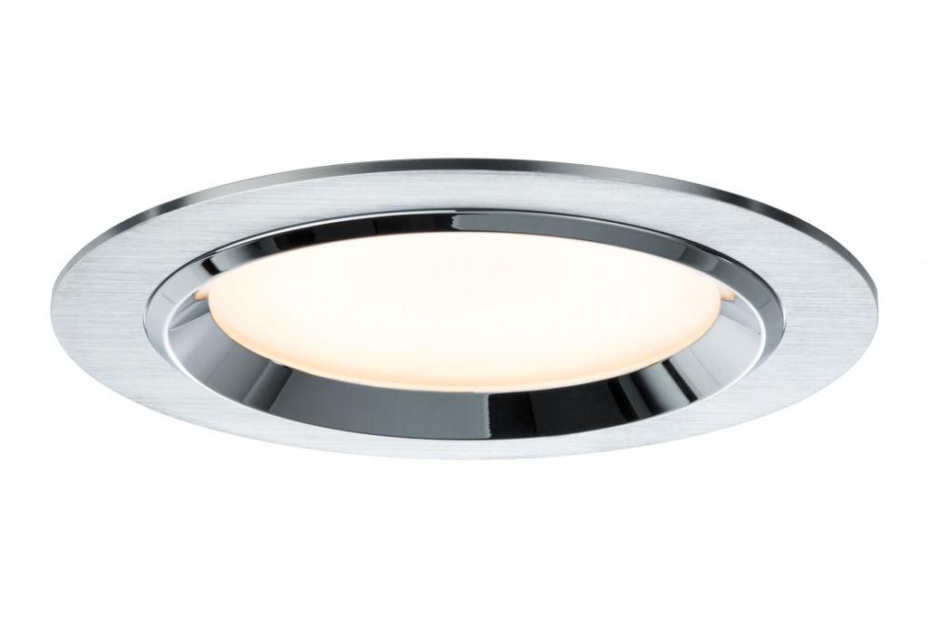 Светильник комплект Dot rund LED 3x8W, алюминий dot