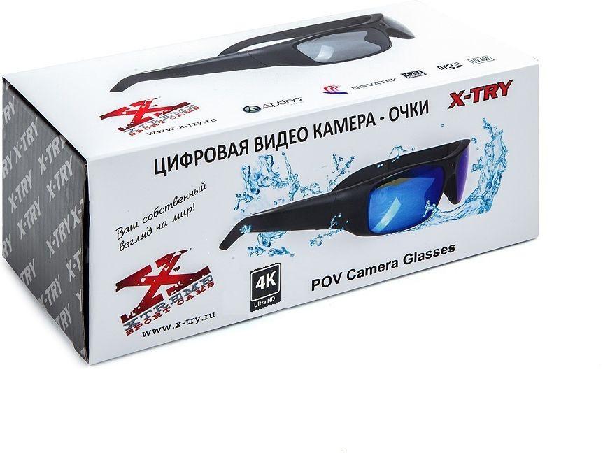 Очки с камерой X-Try XTG371 CRISTAL, черный X-Try