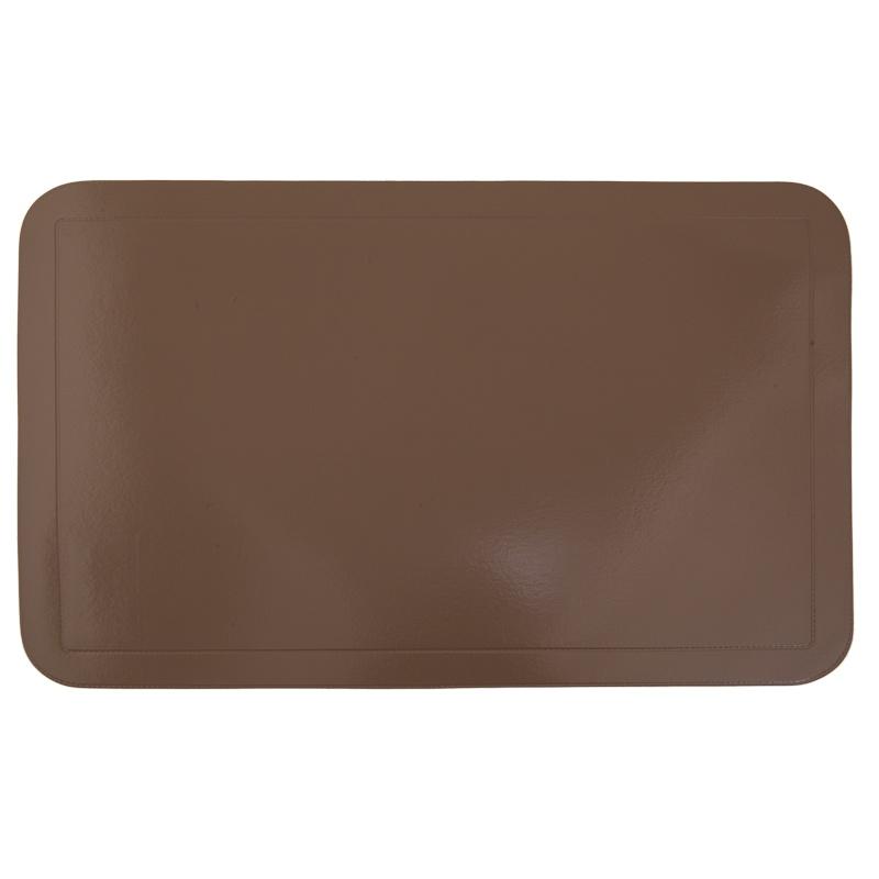 Набор салфетка ПВХ HoReCa (4 шт.) 43,5*28,5см, цв. коричневый