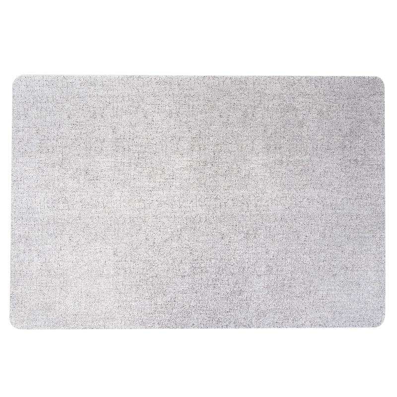 Набор индивидуальных салфеток (4 шт.) 30х45см. с лазерным рисунком Классика, цв. серебро