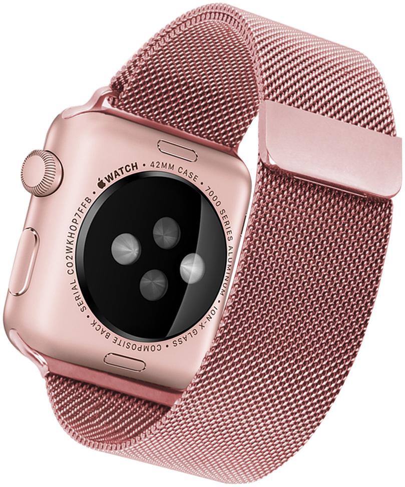Фото - Ремешок Blankcase для Apple Wath 42/44, Розовое золото, 1718 ремешок для смарт часов blankcase для apple watch 38 40 темно серый